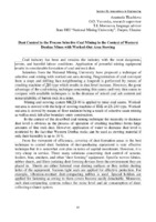 <b>Dust Control in</b> the Process Selective Coal Mining <b>in</b> the Context <b>of</b> ...